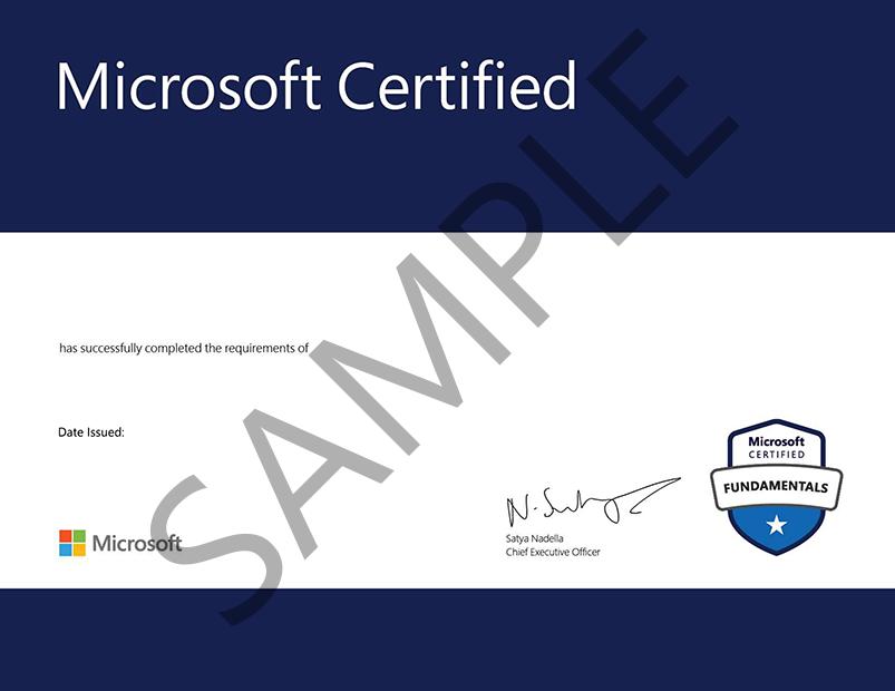 MTC Certificate